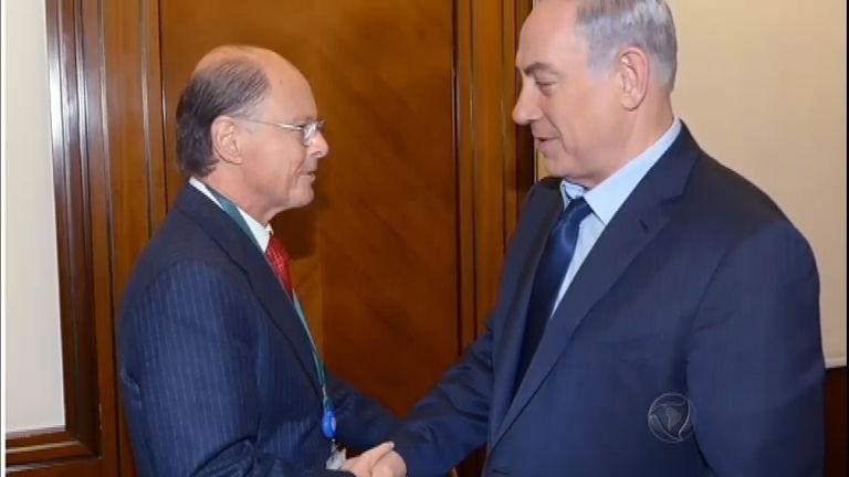 Bispo Edir Macedo é recebido pelo primeiro-ministro de Israel em ...
