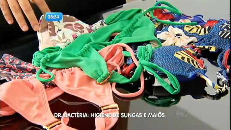 Higiene no verão: Dr. Bactéria mostra como lavar sungas, biquínis e ...