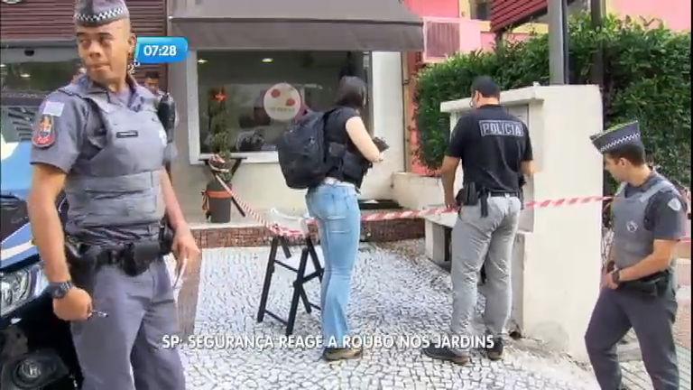 Segurança é baleado ao trocar tiros com bandido durante assalto ...