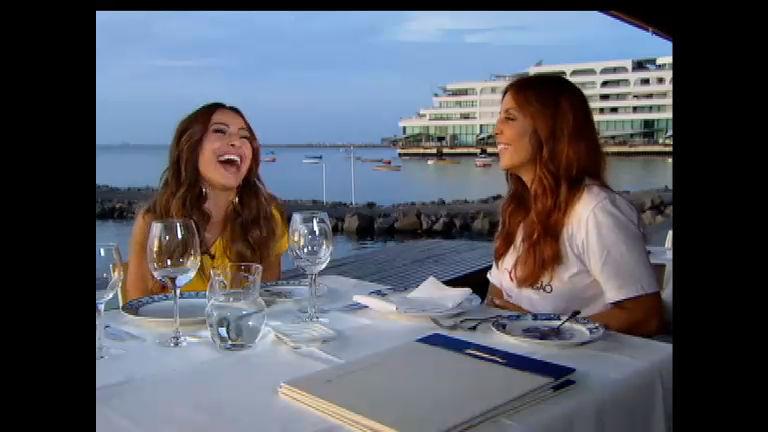 Sabrina invade a intimidade de Ivete Sangalo no programa especial ...