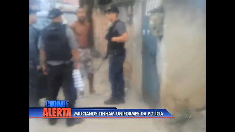 Milicianos são presos na zona oeste; foram apreendidos armas e ...