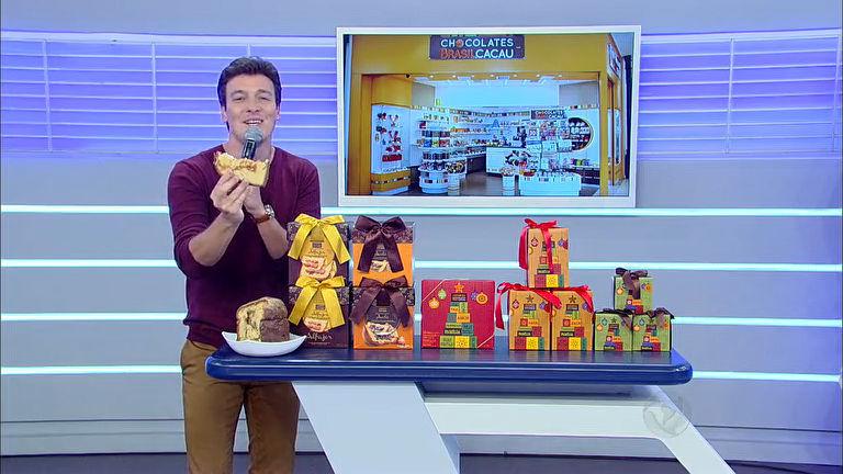 Rodrigo Faro apresenta a promoção Sorte em Dobro da Chocolates ...