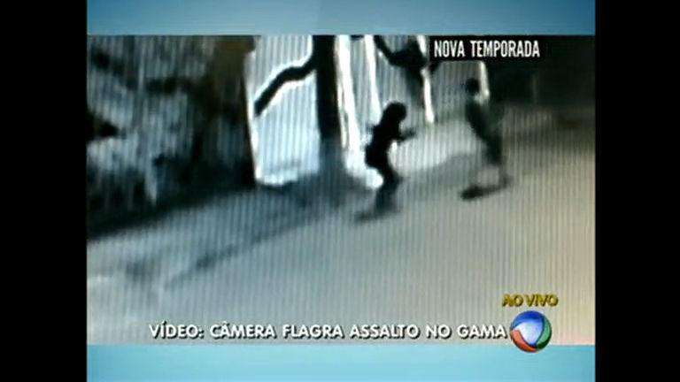 Câmera flagra assalto no Gama - Distrito Federal - R7 Balanço ...