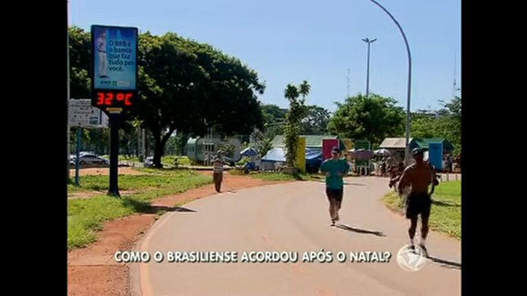 Brasilienses acordam cedo para aproveitar feriado de Natal ...