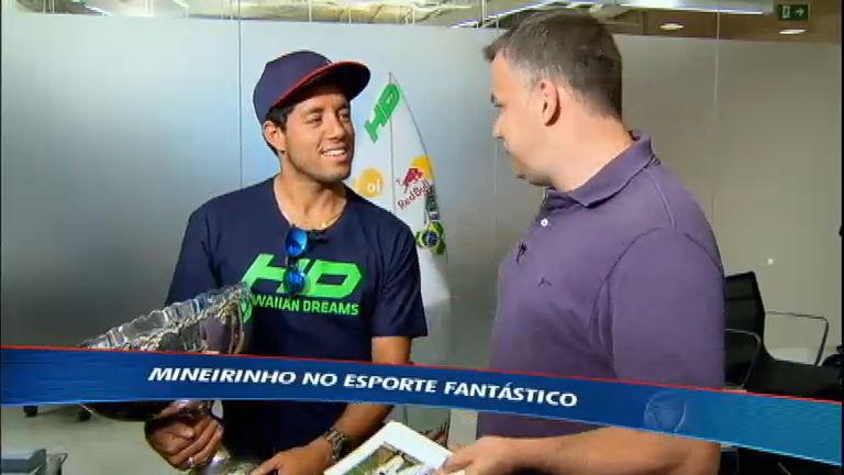Mineirinho bate um papo com o Esporte Fantástico após mundial ...
