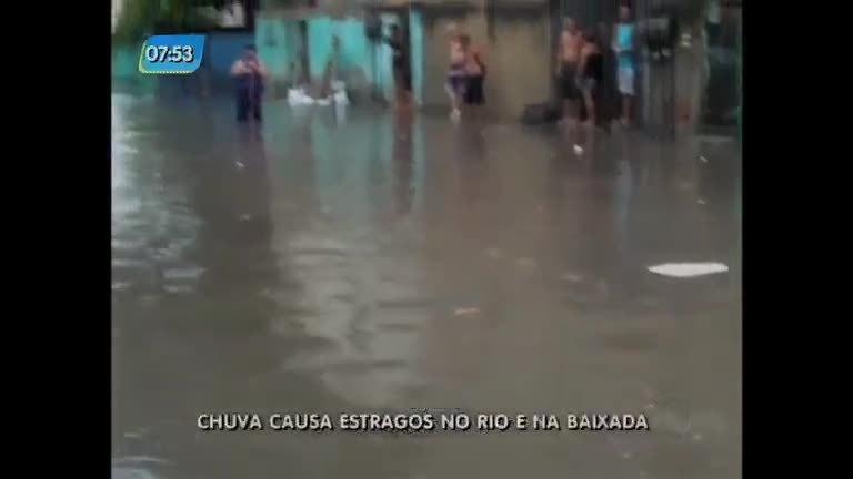 Chuva causa estragos na zona oeste do Rio e na baixada - Rio de ...