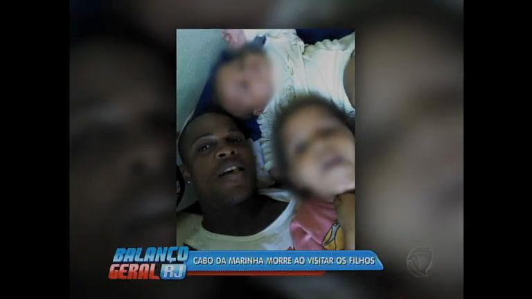 Cabo da Marinha é morto após ir visitar os filhos na casa da ex-mulher
