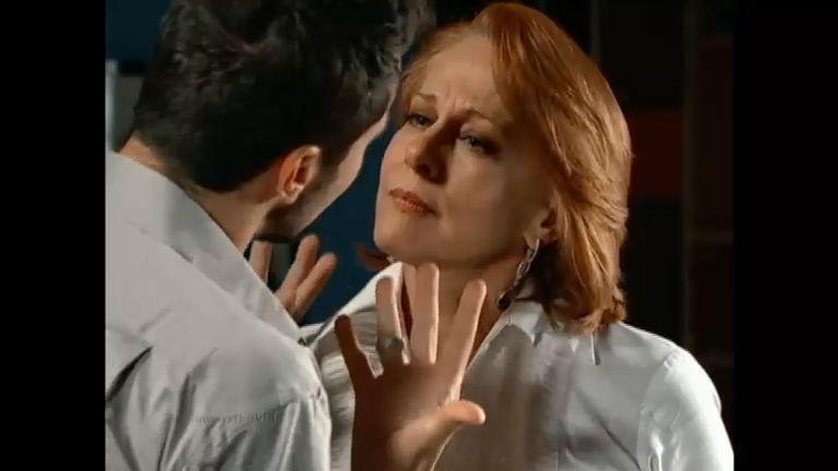 Transtornado, Tomás tira satisfação com Vilma - Entretenimento ...