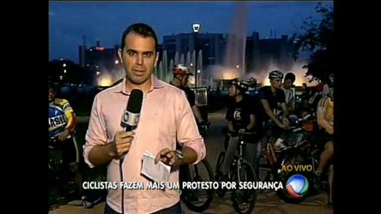 Ciclistas fazem protesto para pedir mais segurança - Distrito Federal ...