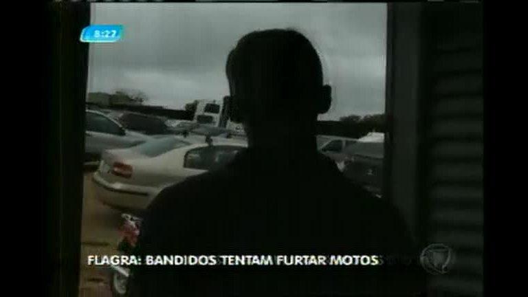 Pátio é invadido por bandidos em Pouso Alegre (MG) - Minas Gerais