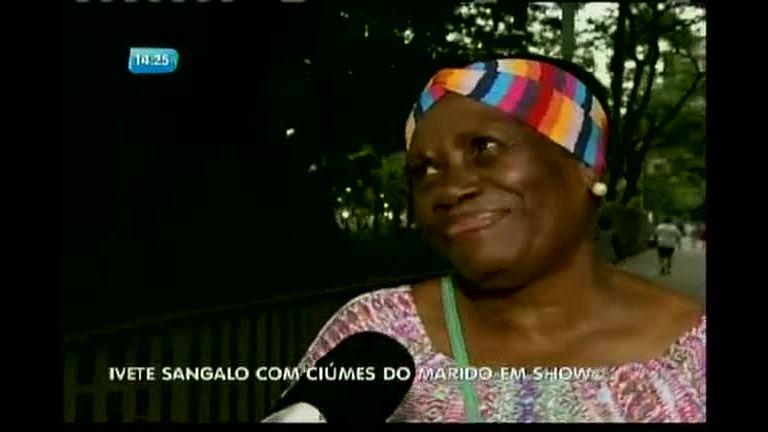 Ivete Sangalo com ciúmes de marido em show - Bahia - R7 Balanço ...