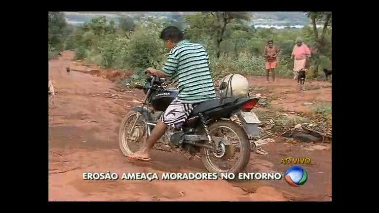 Moradores reclamam de abandono em estrada no Entorno do DF ...