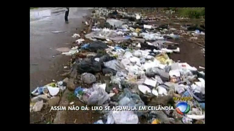 Assim não dá: moradores de Ceilândia reclamam de lixo ...