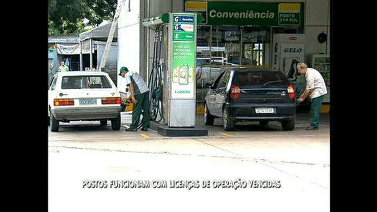Postos de combustíveis do DF estão com licenças de operação ...