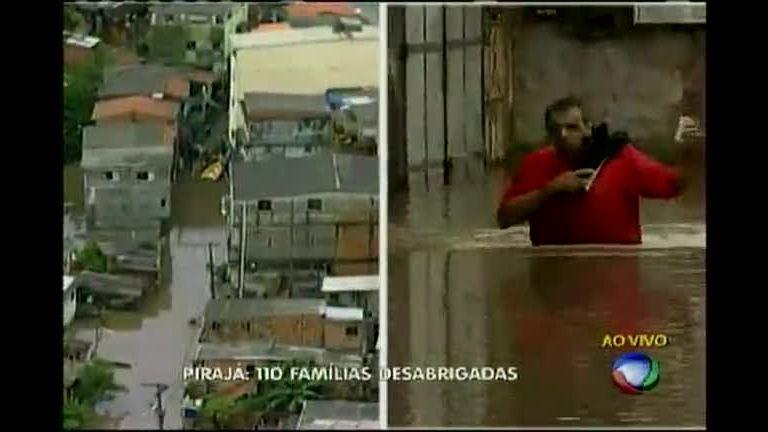 Chuva em Salvador: resgate dramático em Pirajá - Bahia - R7 ...