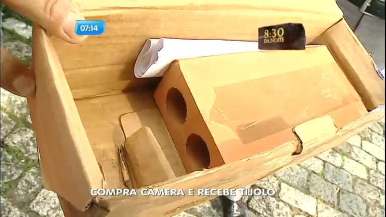 Consumidor recebe tijolo no lugar de câmera comprada pela ...