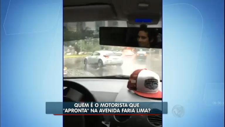 Flagrante: jovem dirige de forma perigosa em uma das principais ...