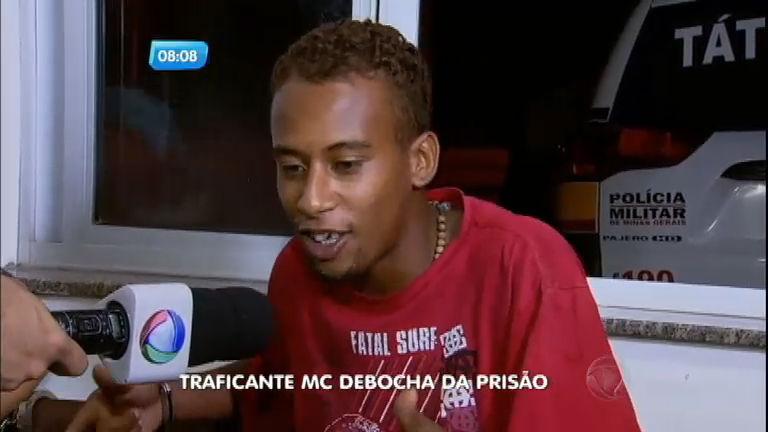 Traficante preso canta funk na delegacia em Betim (MG) - Notícias ...