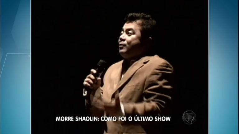Veja como foi o último show de Shaolin antes do acidente de carro ...