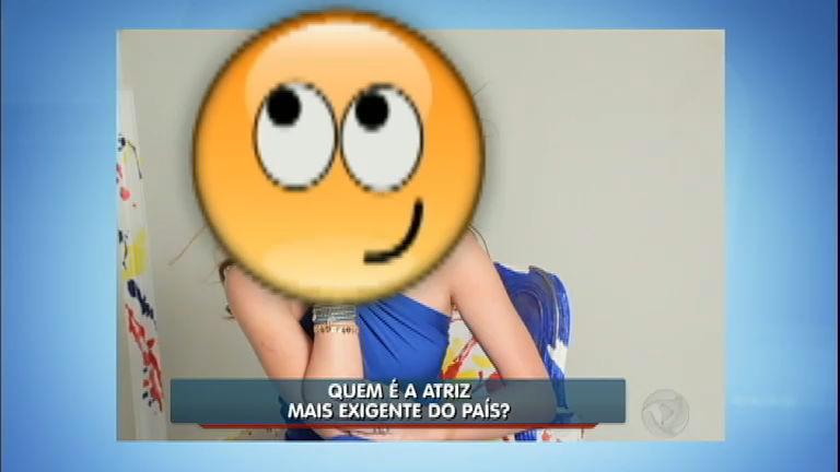 Hora da Venenosa: descubra quem é a atriz mais exigente do Brasil ...
