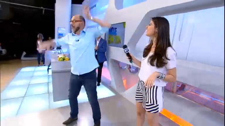 Intervalo: Britto Jr samba e mostra o que Ana Hickmann (não) deve ...