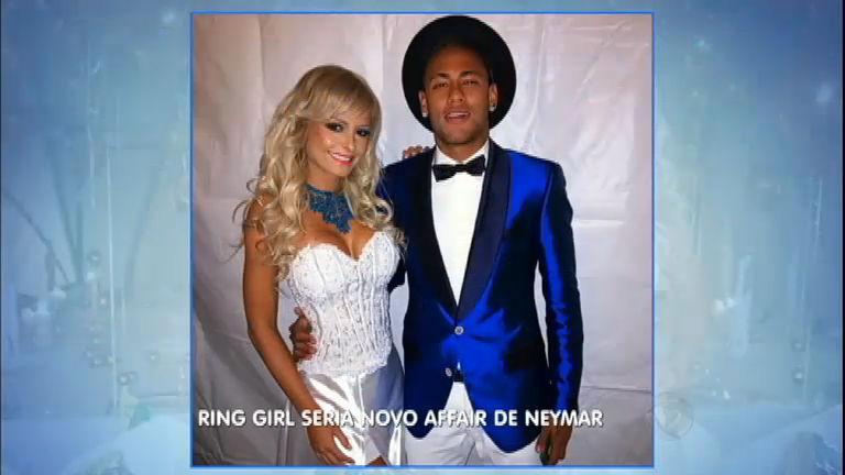 Ring girl do UFC é apontada como o novo affair de Neymar - Rede ...