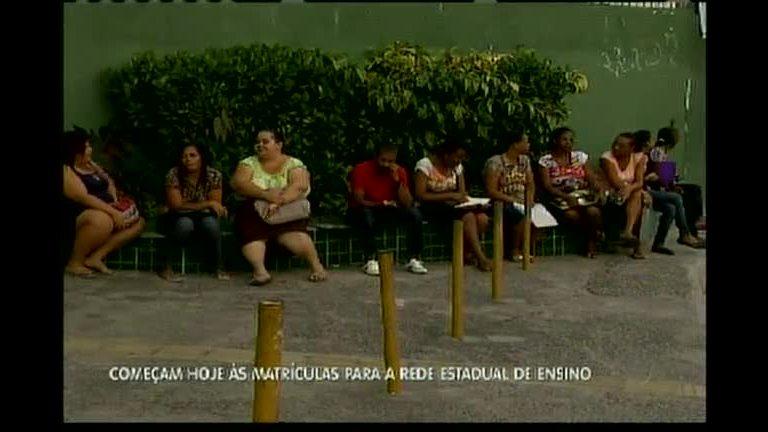 Abertas as matrículas para a Rede Estadual de ensino - Bahia - R7 ...
