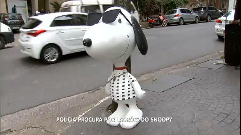 Estátua do Snoopy é devolvida em São Paulo - Notícias - R7 ...