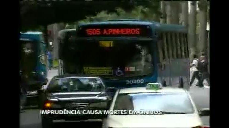 Imprudência causa mortes em ônibus - Minas Gerais - R7 MG Record