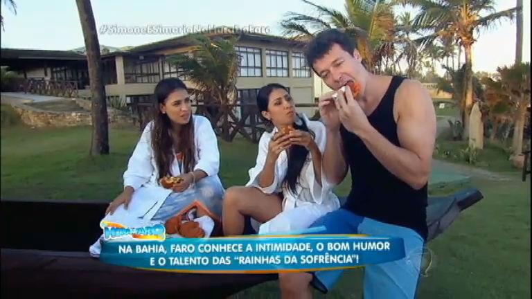Rodrigo Faro apronta todas com Simone e Simaria em Salvador ...