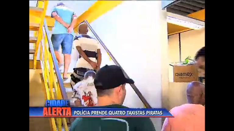 Quatro taxistas piratas são presos em Bangu - Rio de Janeiro - R7 ...