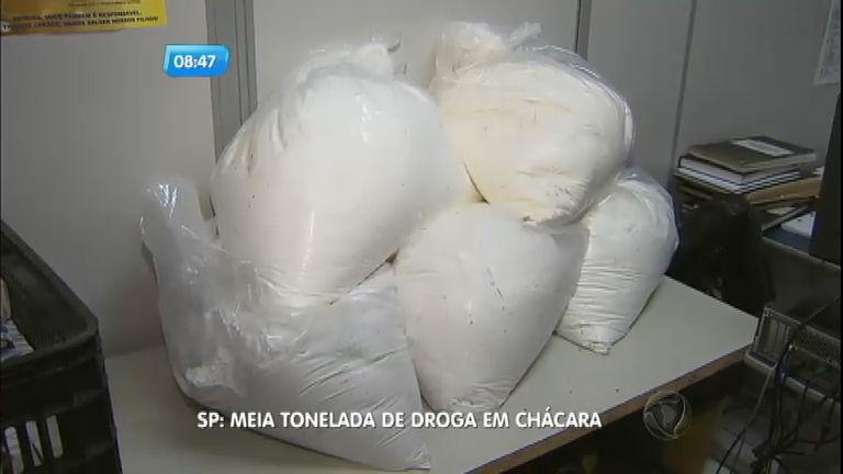 Polícia apreende meia tonelada de droga em chácara em Ribeirão ...