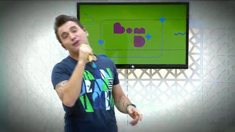 Cantor Tayrone anima o programa Bom D+ - Bahia - R7 Bom Demais