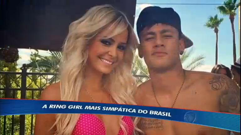 Esporte Fantástico mostra rotina da ring girl amiga de Neymar ...