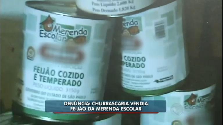 Denúncia: churrascaria utilizava feijão destinado à merenda escolar ...