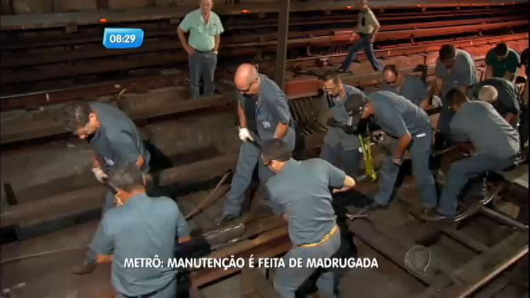 São Paulo no Ar acompanha de perto o trabalho de manutenção do ...