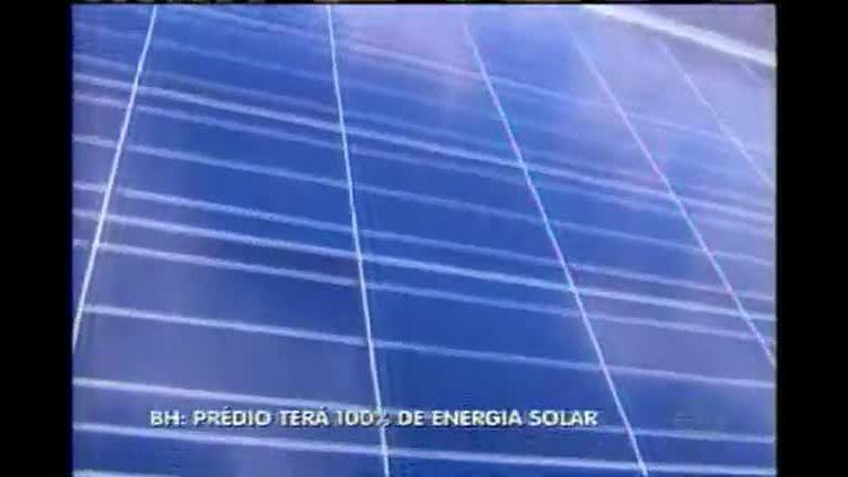 Prédio em BH é pioneiro no uso de energia solar - Minas Gerais ...
