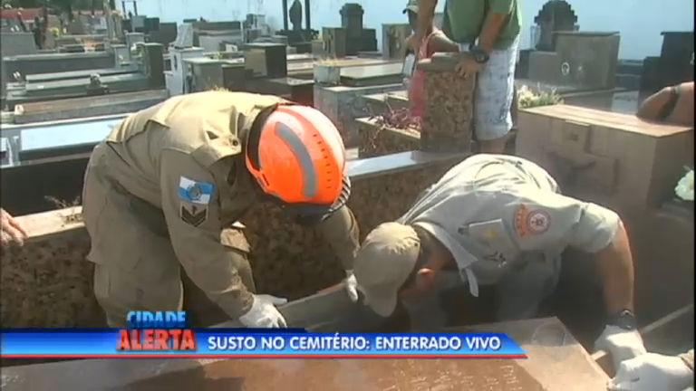 Homem é enterrado vivo em cemitério no RJ - Notícias - R7 Cidade ...