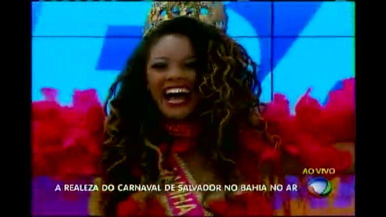 Realeza do Carnaval samba no Bahia no AR - Bahia - R7 Bahia no Ar