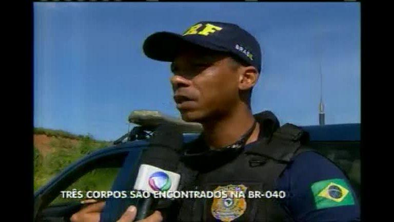Três corpos são encontrados na BR-040 - Minas Gerais - R7 ...
