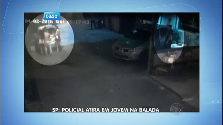 Câmera registra momento em que policial atira e mata jovem em ...