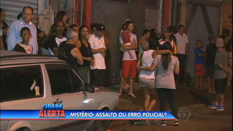 Mistério: assalto ou erro policial? - Notícias - R7 Cidade Alerta