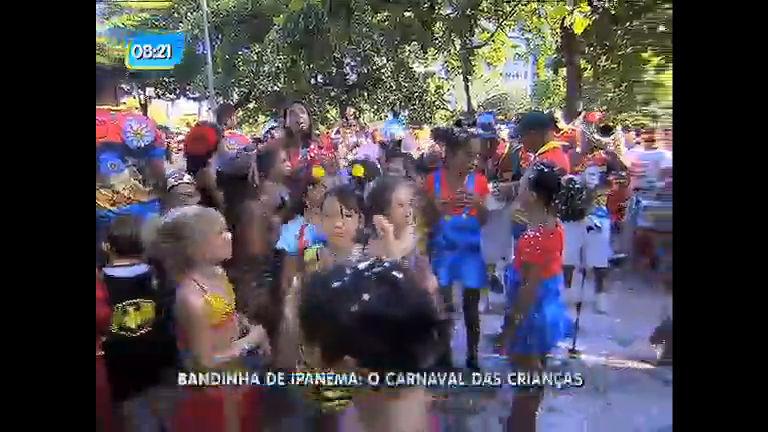 Bandinha de Ipanema reúne foliões mirins na praça General Osório ...