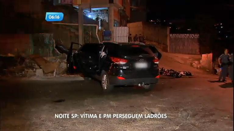 Advogado tem carro roubado e persegue bandidos junto com PMs ...