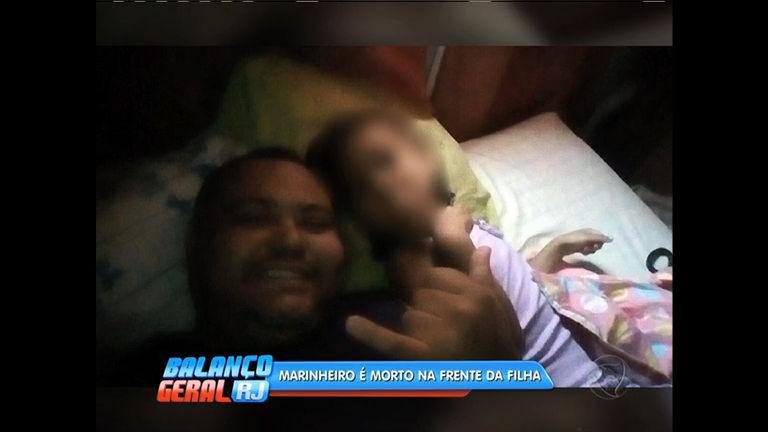 Marinheiro é morto na frente da filha de 6 anos em São João de Meriti