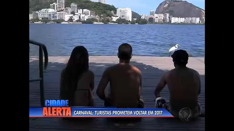 Após folia, turistas vão esticar estadia no Rio até domingo ( 14) - Rio ...