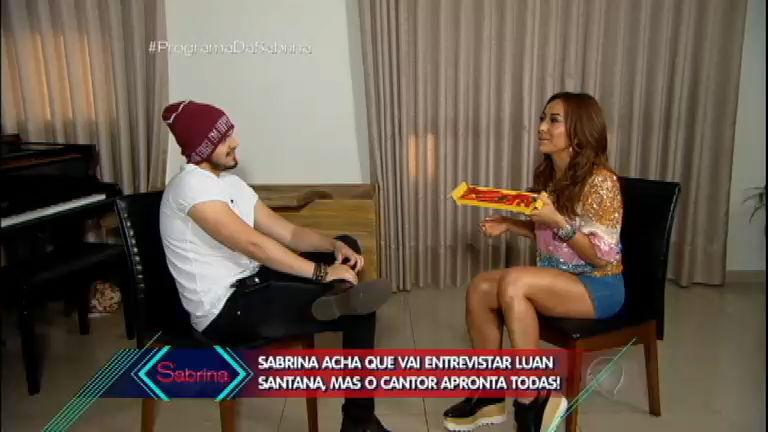 Luan Santana surpreende e emociona Sabrina Sato durante show ...