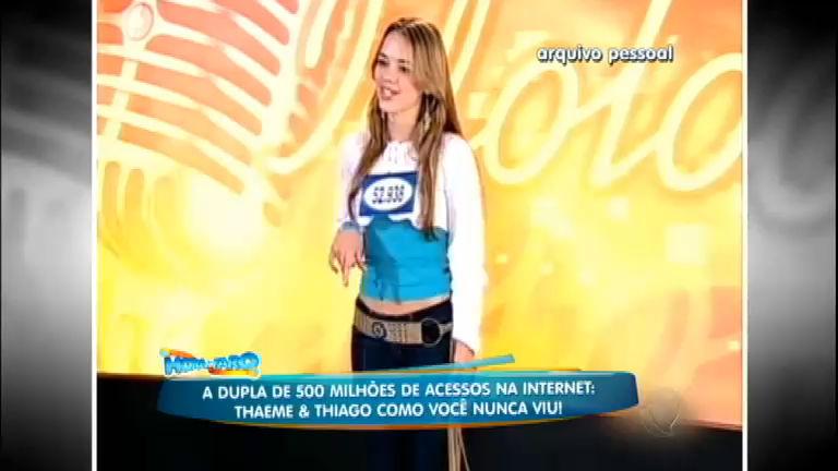 Thaeme relembra passagem pelo reality show Ídolos e fala sobre ...