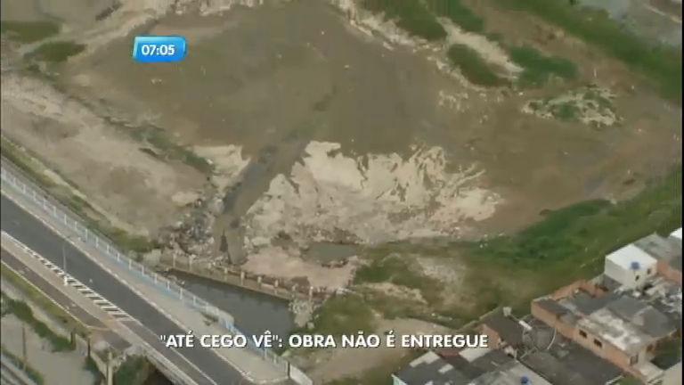 Até Cego Vê: piscinão não é entregue e moradores de Poá (SP ...