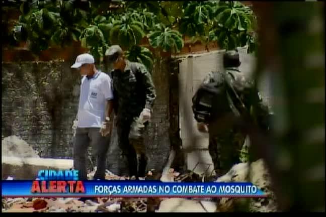 Forças Armadas no combate ao aedes aegypti